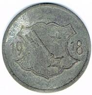 Allemagne - Nécessité - 10 Pfennig 1918 (zinc) WORMS - Monétaires/De Nécessité