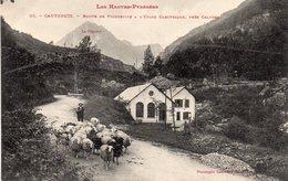 Cauterets - Route De Pierrefitte - Route De L ' Usine électrique , Près Calypso - Cauterets