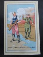 Postkarte - Anti-Hitler Karte Ca. 1945 - Weltkrieg 1939-45