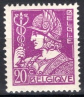 Timbres Neufs* Belgique, N°338 Yt,commerce, Dieu Mercure,  Charnière - Unused Stamps