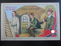Postkarte - Anti-Hitler Karte Ca. 1945 - Guerre 1939-45