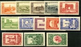Algerie (1930) N 87 à 99 * (charniere) - Ongebruikt