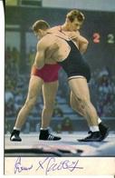 006499  Postkarte Mit Ringern Und Original-Unterschriften  1970 - Ringen