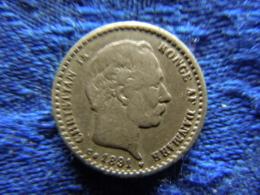DENMARK 10 ÖRE 1891, KM795.1 - Danemark