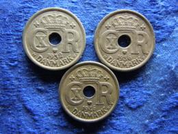 DENMARK 25 ÖRE 1932, 1936, 1946, KM823.2 - Danemark