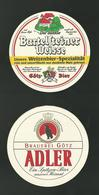 Sotto-boccale O Sottobicchiere - Adler - Beer Mats - Sous-bocks - Bierdeckel - Portavasos - Sotto-boccale