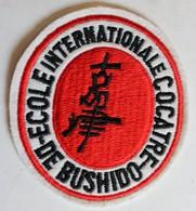 écusson Rare Brodé école Internationale COCATRE De Bushido Arts Martiaux - Sports De Combat