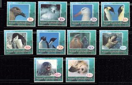 Terre  De Ross ** N° 27 à 36 - Manchots, éléphants De Mer, Phoques, Albatros , Etc..... - Briefmarken