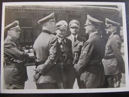 Postkarte - Propaganda - Compiegne 1940 - Keitel Göring Hitler Hess - Briefe U. Dokumente