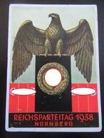 Postkarte - Propaganda - Reichsparteitag 1938 - Erhaltung II-III - Deutschland