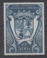 TAAF 1970-P.A. N°21** PASSAGE DE COOK A KERGUELEN - Luchtpost