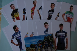 CYCLISME: EQUIPE DECEUNINCK QUICK  STEP 2019 COMPLETE - Ciclismo