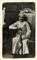 India, Shri Maharana Bhupal Singh Bahadur KCIE Of Udaipur (1930s) Verbros RPPC - India