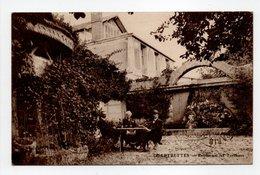 - CPA CHARTRETTES (77) - Restaurant Les Terrasses (avec Personnages) - - Autres Communes