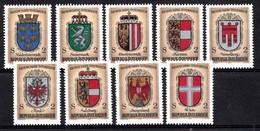 AUTRICHE 1976  Mi.nr.: 1522-1530  1000.Jahre Österreich-Wappen  Neuf Sans Charniere-MNH-Postfris - 1971-80 Neufs