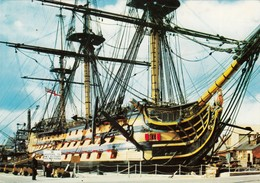 """CPA - H.M.S. """"Victory""""  - Ecrite - Portsmouth"""