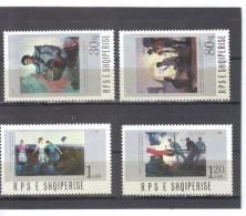 ALB18  ALBANIEN 1987  MICHL  2338/41  ** Postfrisch SIEHE ABBILDUNG - Albanien