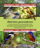 Mozambique - Postfris / MNH - Sheet Kingfishers 2019 - Mozambique
