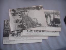 Lot De 7 Carte 1903 Versailles Paris Visite Roi Et Reine Italie - Versailles