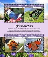 Mozambique - Postfris / MNH - Sheet Vlinders 2019 - Mozambique