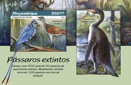 Mozambique - Postfris / MNH - Sheet Uitgestorven Vogels 2019 - Mozambique
