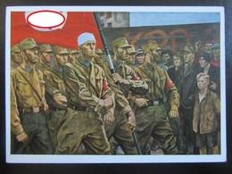 "Postkarte - Propaganda - ""So War SA"" - Elk Eber - Erhaltung I- - R! - Briefe U. Dokumente"