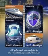 Mozambique - Postfris / MNH - Sheet Japanse Treinen 2019 - Mozambique