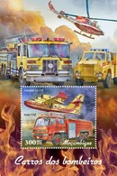 Mozambique - Postfris / MNH - Sheet Brandweerwagens 2019 - Mozambique
