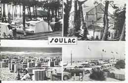 515-234 - SOULAC SUR MER ( 4 VUES - DAUPHINE RENAULT + DS CITROËN ) - Soulac-sur-Mer