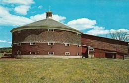 CP - Round Barn - Newbury  -  Non Ecrite - Etats-Unis
