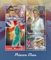 Mozambique - Postfris / MNH - Sheet Prinses Diana 2019 - Mozambique