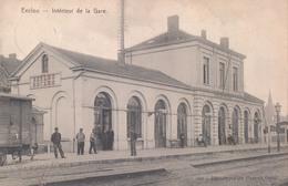 Eeklo Station Eecloo Intérieur De La Gare - Eeklo