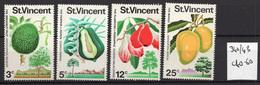 1972 - ST. VINCENT - Mi. Nr. 312/315 - LH - (UP.207.44) - St.Vincent E Grenadine