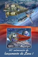 Mozambique - Postfris / MNH - Sheet Ruimteschip Luna 2019 - Mozambique