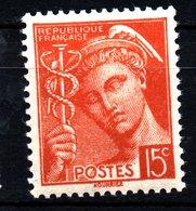 FRANCE 1938/41: Type MERCURE  - N° 409** - France