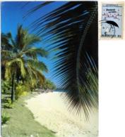 MAURITIUS  MAURICE  ST GERAN  Plage Beach   Nice Stamp Vaccines Theme - Mauritius