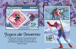 Mozambique - Postfris / MNH - Sheet Olympische Winterspelen 2019 - Mozambique