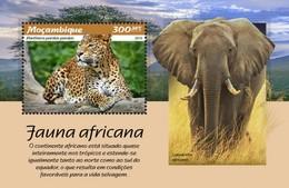 Mozambique - Postfris / MNH - Sheet Afrikaanse Fauna 2019 - Mozambique
