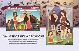 Mozambique - Postfris / MNH - Sheet Prehistorische Mensen 2019 - Mozambique