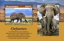 Mozambique - Postfris / MNH - Sheet Olifanten 2019 - Mozambique