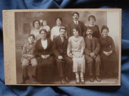Photo Format Cabinet Courbet à Puteaux  Photo De Famille Sur 2 Rangées - L419 - Anonyme Personen