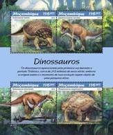 Mozambique - Postfris / MNH - Sheet Dinosauriërs 2019 - Mozambique