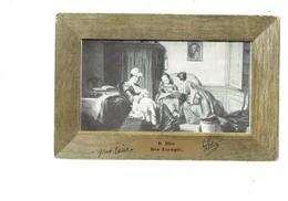 Cpa - D. BLES - BON EXEMPLE - F.M. K. 4026 - Drgm 218962 - Femme Allaite Bébé - 1906 - Chevaux