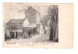 75 Paris Montmartre Cpa Edit VP N°7 Rue St Vincent Le Cabaret Du Lapin Agile Cachet 1904 - Arrondissement: 18