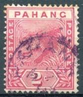Pahang - 1891/1895 - Yt 6 - Tigre - Oblitéré - Pahang