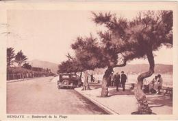 CPA - HENDAYE Boulevard De La Plage - Hendaye