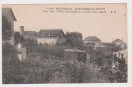 Saint-Trojan, Vue Sur L'Hôtel Moderne Et L'Hôtel Des Bains - Ile D'Oléron