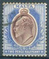 Malte - 1903/1904 - Yt 21 - Edouard VII - Oblitéré - Malta