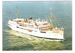 """Deutschland - Line Travemünde / Kopenhagen / Hälsingborg - Schiff - Ship - Dampfer - MS """" Nordland """" - Dampfer"""