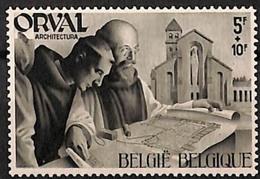 Timbres Neufs* Belgique, N°567 Yt, Abbaye D'orval, Moines, Architecture, église Abbatiale Reconstru, Trace De  Charnière - Neufs